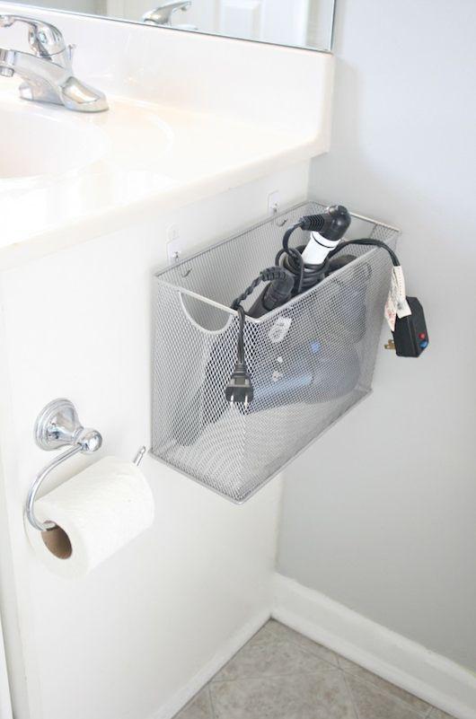 hair-dryer-storage