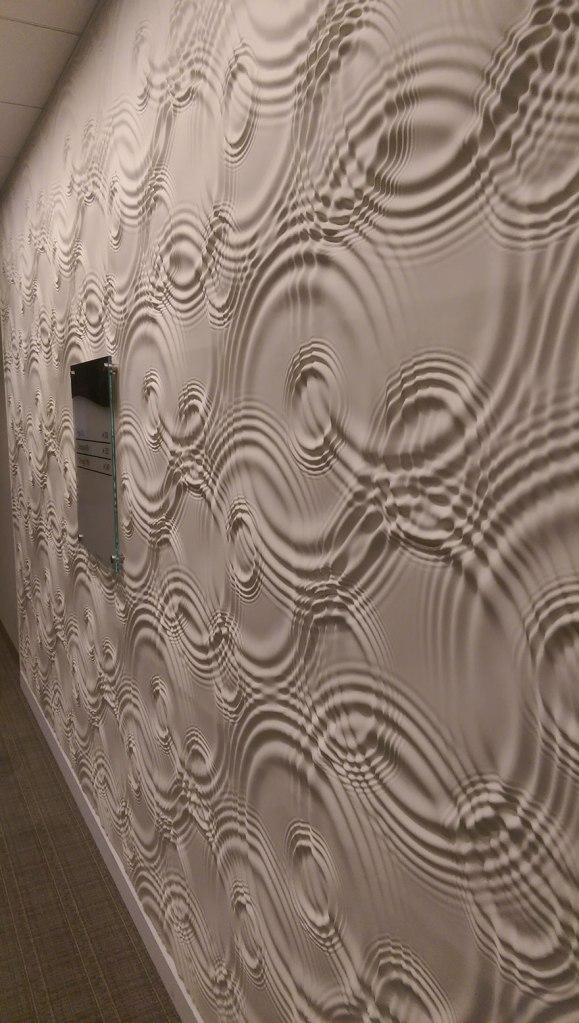 rippled-wall