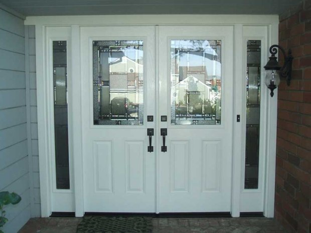 white-glass-entry-doors