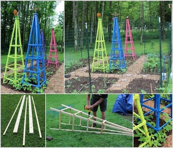 10 Easy Yet Beautiful Diy Garden Trellis Projects