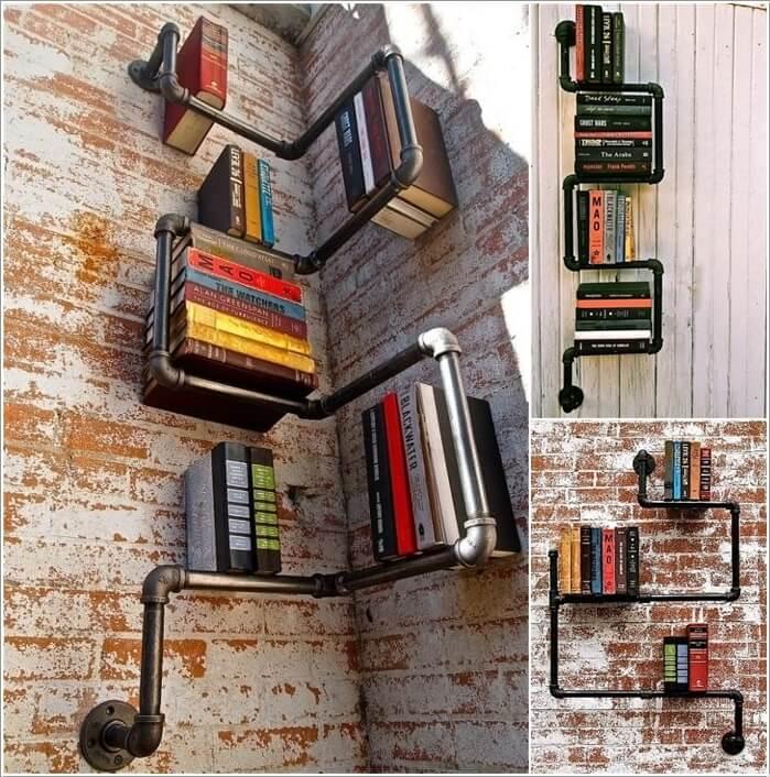 Diy Bookshelf Crates