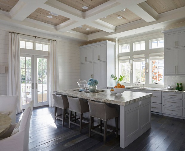 shiplap-and-coffered-ceiling-kitchen