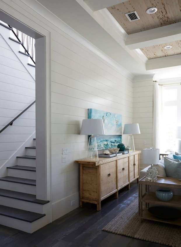 white-shiplap-walls-with-dark-stained-floors